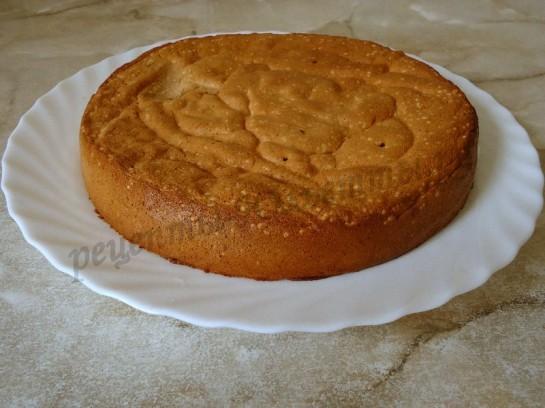 рецепт бисквитного теста с фото