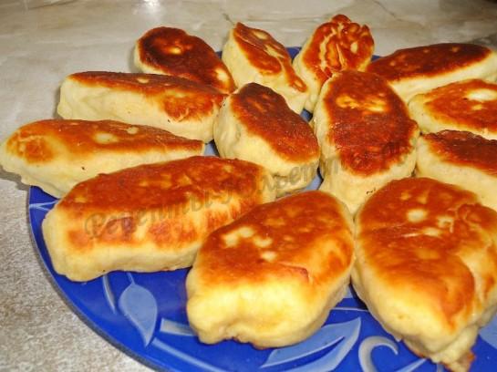 жареные пирожки с яблоком фото 7