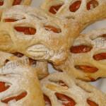слоеное тесто абрикосы фото