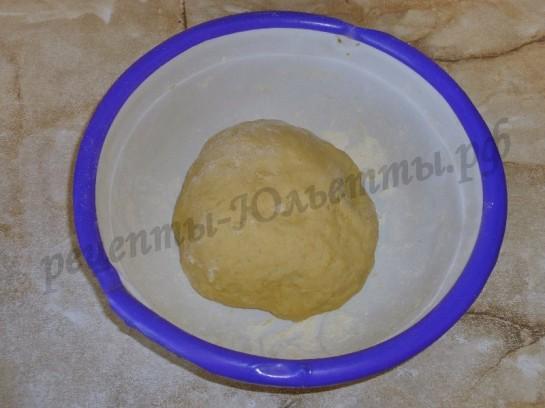 тертый пирог с вишней фото 6