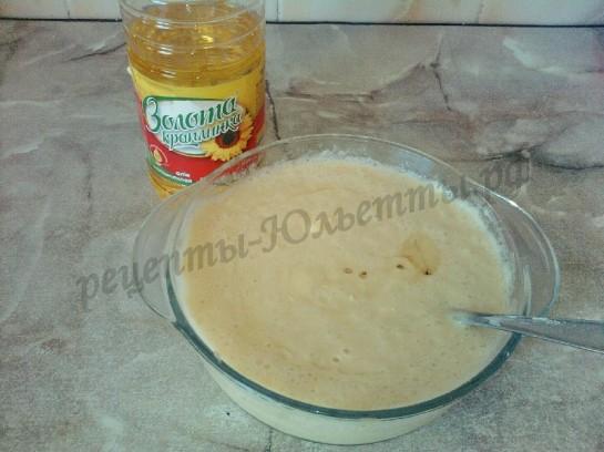 торт поленница с вишней из блинчиков (11)