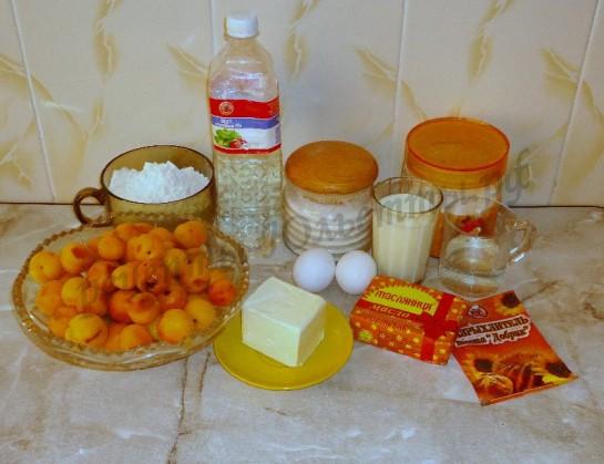 торт с абрикосами фото 1