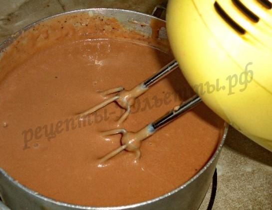 крем заварной шоколадный таврический