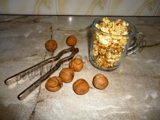 очистим орехи