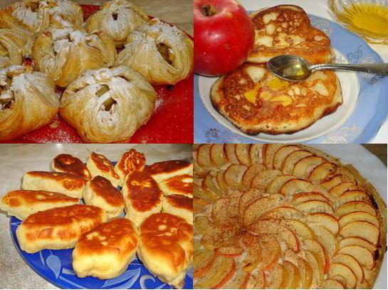 фото рецепты выпечки с яблоками