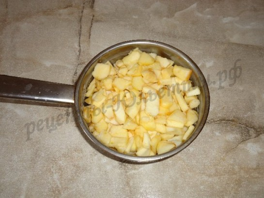 яблочный пирог из дрожжевого теста 2