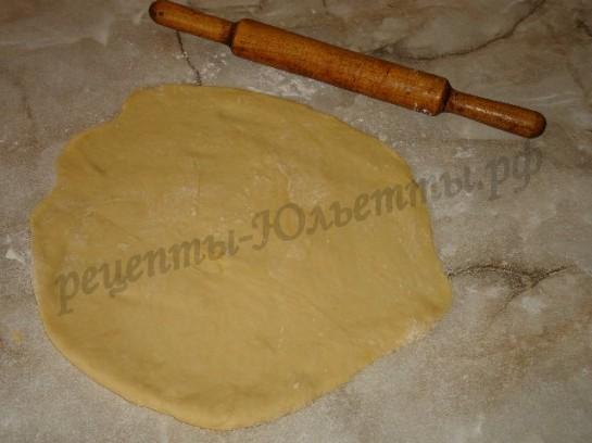 яблочный пирог из дрожжевого теста 5