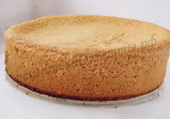 Рецепт бисквита простой