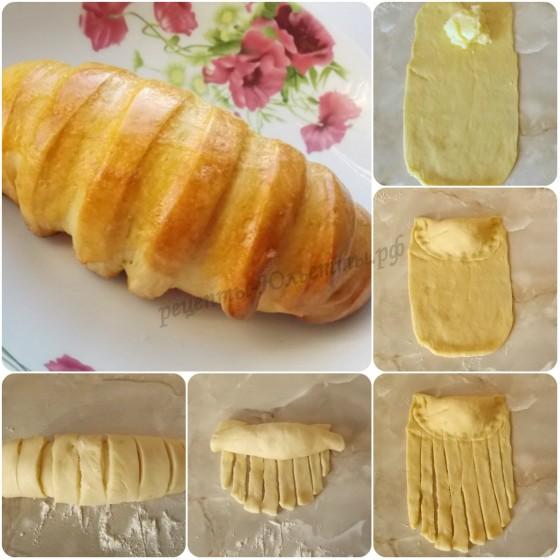 как сделать булочку с кремом