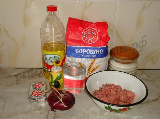 жареные пирожки с мясом с фото 1