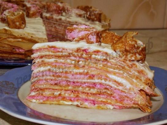 блинный торт с фото