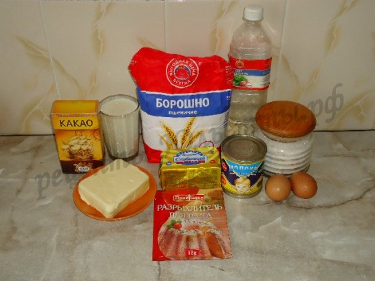 торт с творогом и вишней рецепт