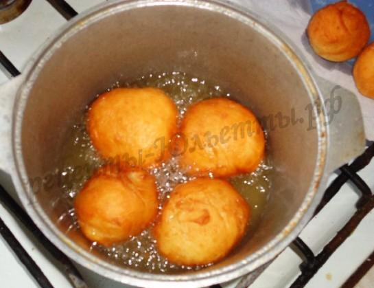 пончики со сгущенкой фото 5