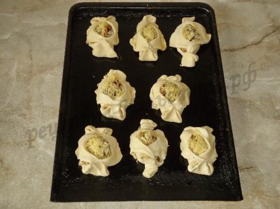 слойки с грибами фото 11