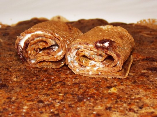 шоколадные блинчики фото 9