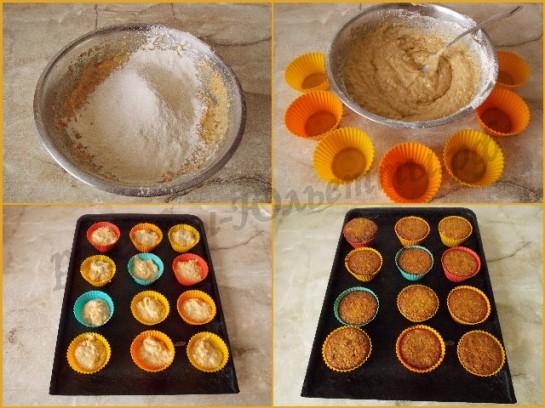 выпекаем кексы с мандаринами