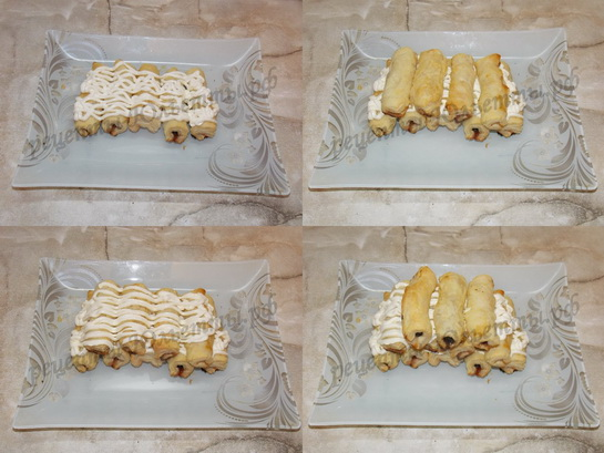 торт дрова под снегом фото 2