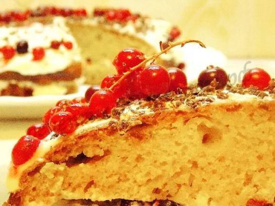торт с клюквой фото 14
