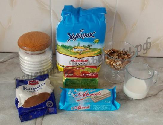 ингредиенты для каштанчиков