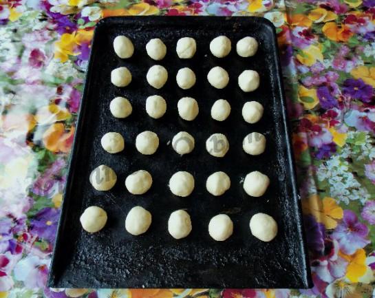 каштаны домашнее песочное печенье фото 3