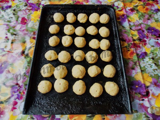 каштаны домашнее песочное печенье фото 5