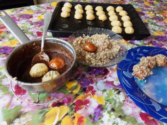 каштаны домашнее песочное печенье фото 6