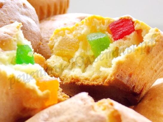 маффины с цукатами рецепт с фото