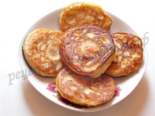 рецепт с абрикосами оладьи 6