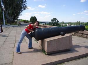 Пушка на набережной, Николаев