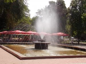 Фонтан в парке, Николаев