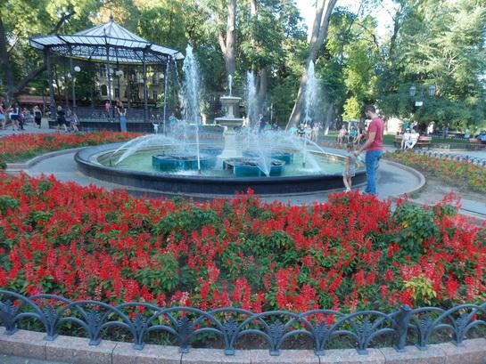 фонтан на Дерибасовской