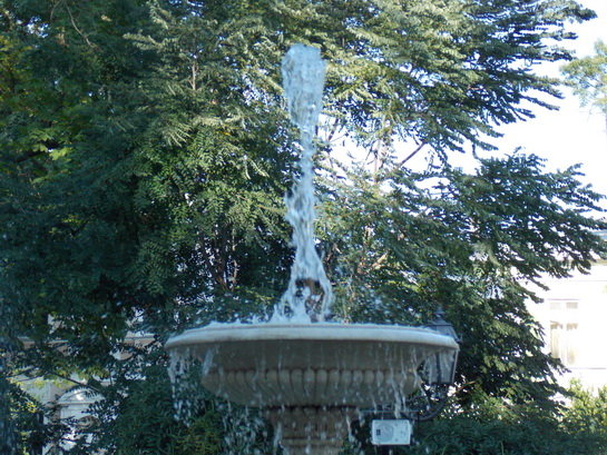 фонтан в городском сквере, Одесса