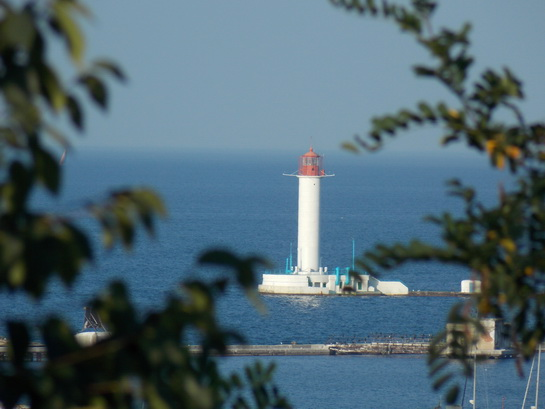 Одесский маяк фото
