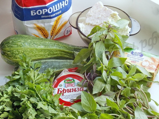 ингредиенты для солёного чизкейка