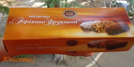 орехово-фруктовые пирожные