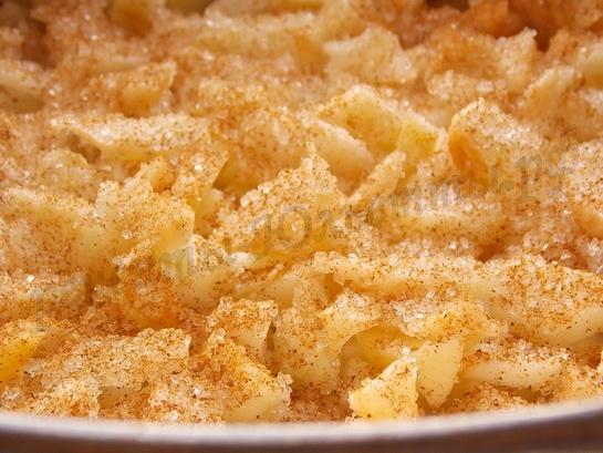 яблочная начинка для пирога