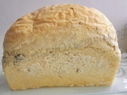 домашний хлеб готов