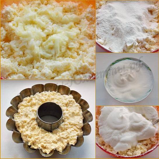как испечь лимонный кекс с творогом