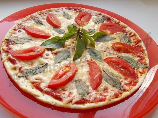 быстрая домашняя пицца готова