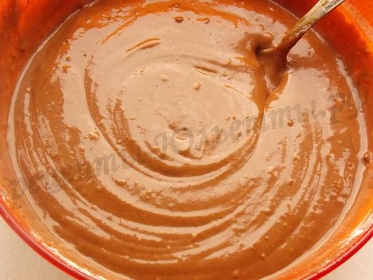 тесто для шоколадых кексов