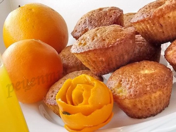 Апельсиновые кексики – кулинарный рецепт
