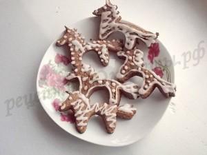 печенье лошадки шоколадное