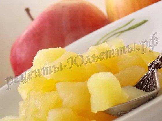 пирожковая начинка из яблок