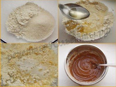 тесто для постных кексов