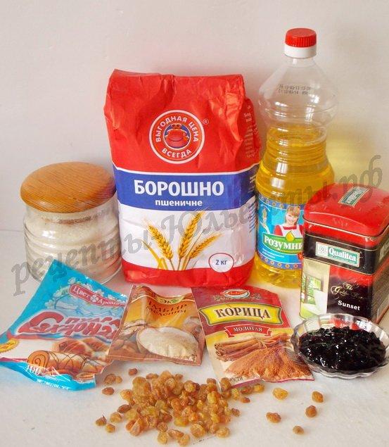 ингредиенты для чайных кексов