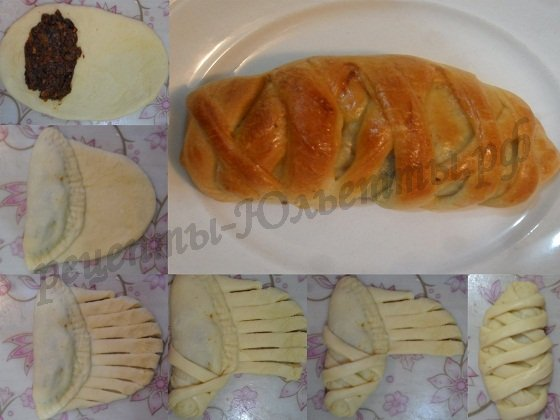 красивые булочки фото: булочка-плетёнка