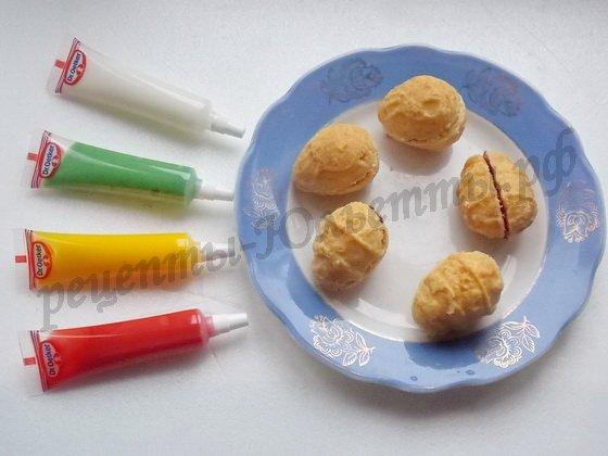 склеиваем повидлом половинки печенья