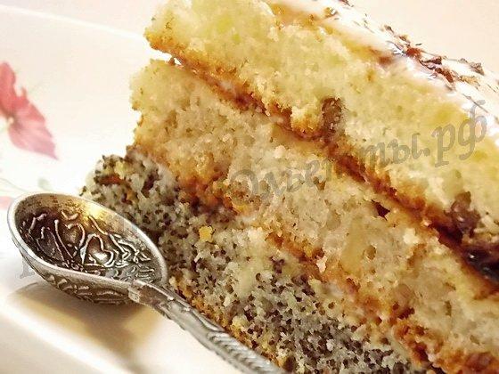 домашний торт сказка готов