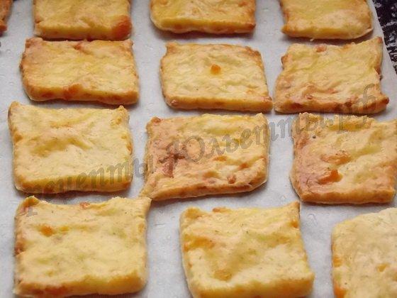 сырное печенье готово