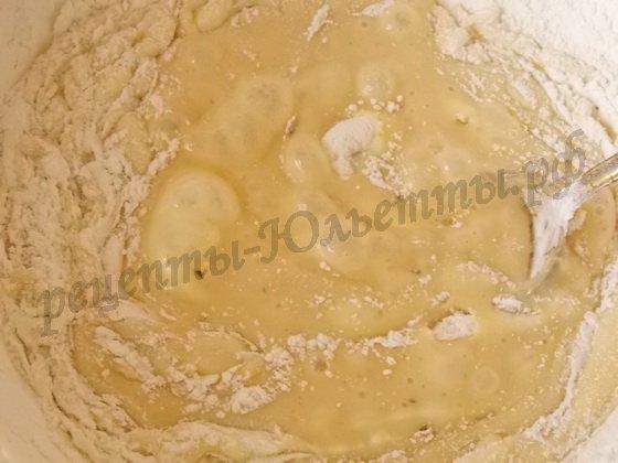 заварное тесто для медовика